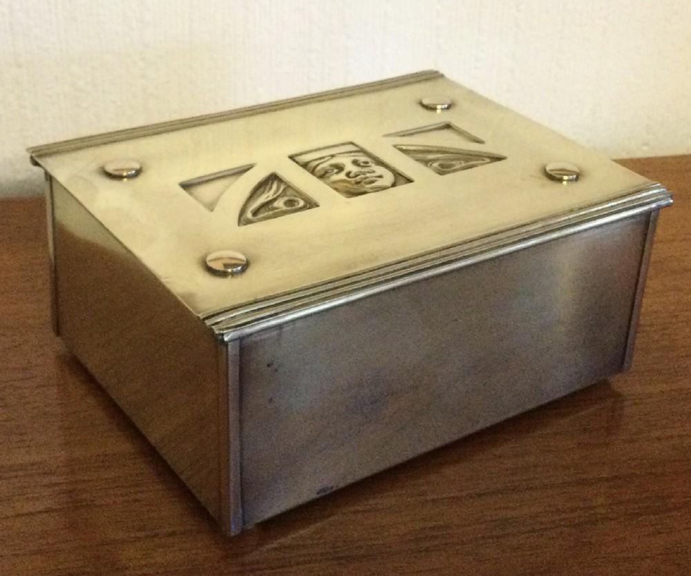 jugendstil box by carl deffner