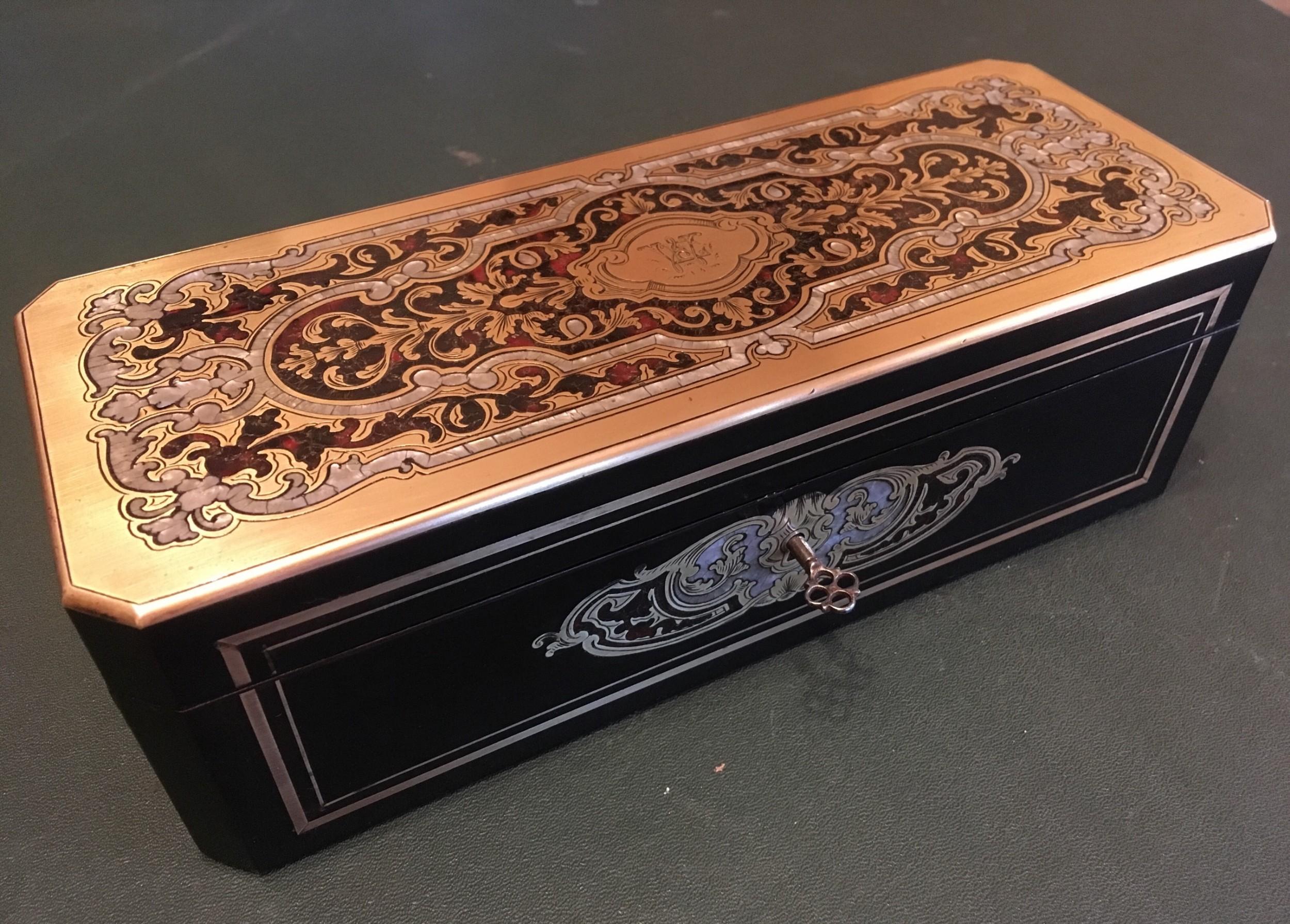 napoleon iii boulle work glove box
