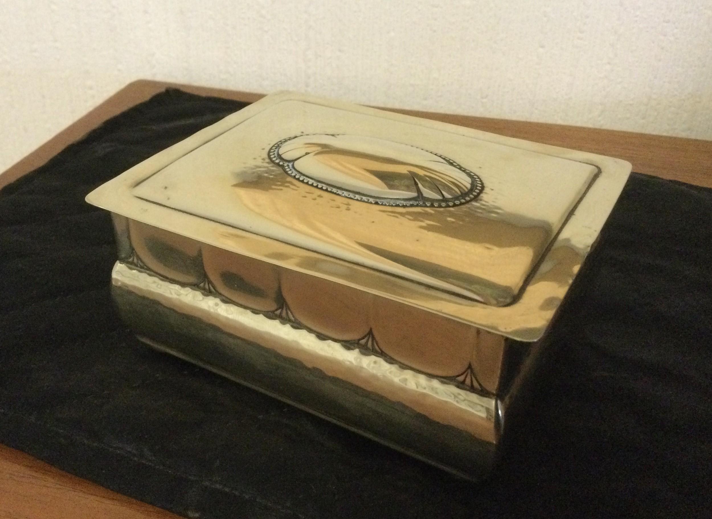 jugendstil box by kayser son