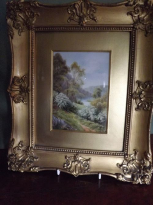 royal worcester porcelain plaque by rrushton