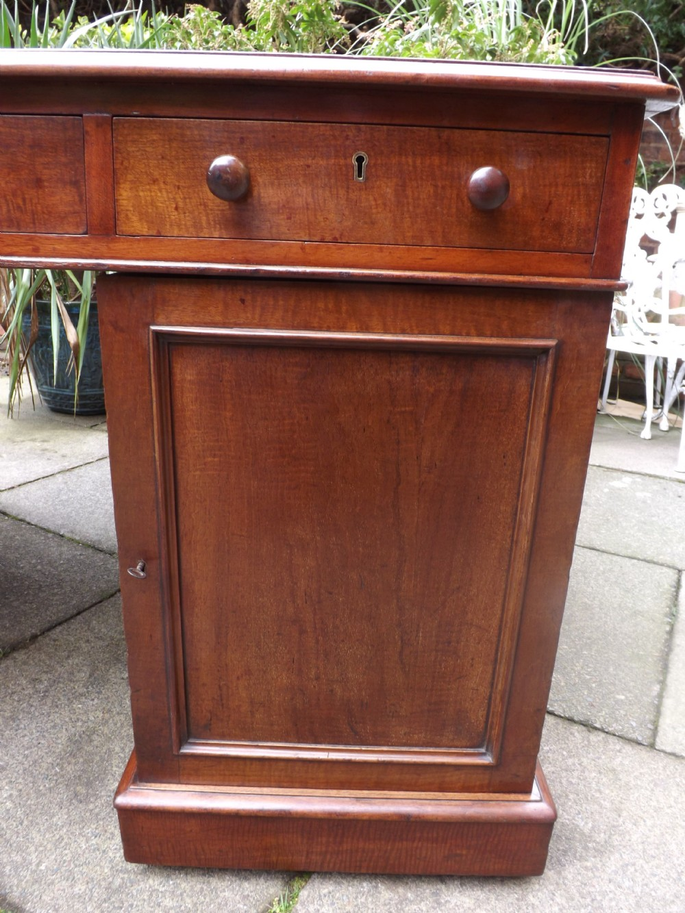 Early C19th Regency Period Mahogany Double Sided Pedestal