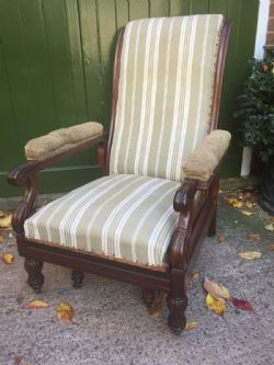 Antique Library Daws Chairs