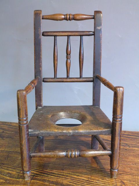 Antique Commode Chairs