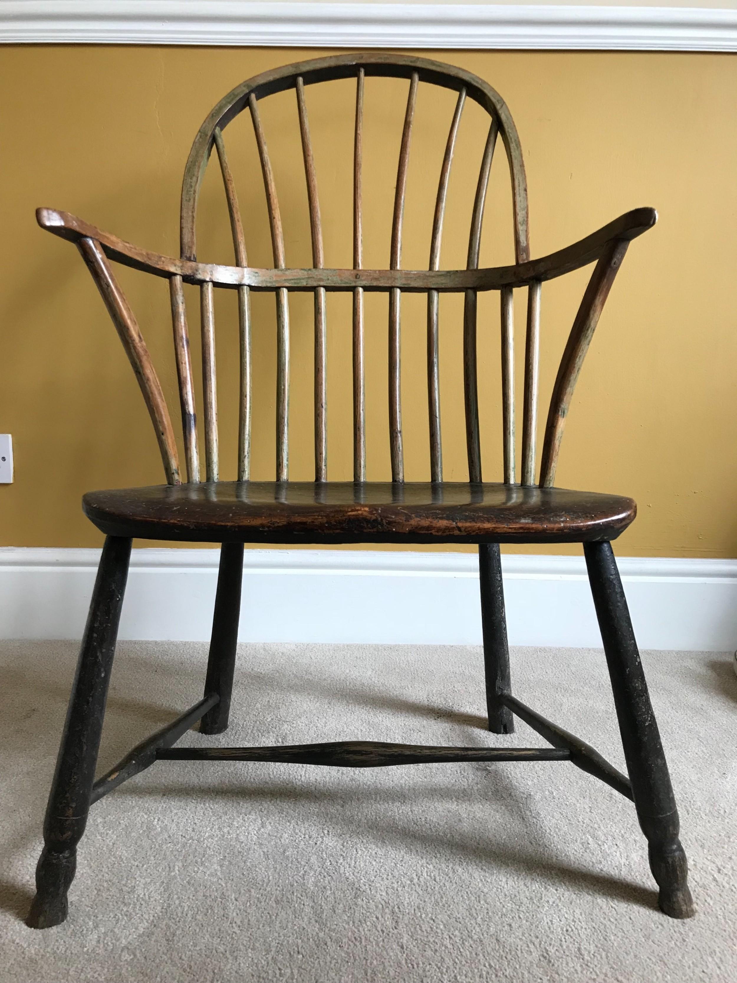 18thc cornish regional chair