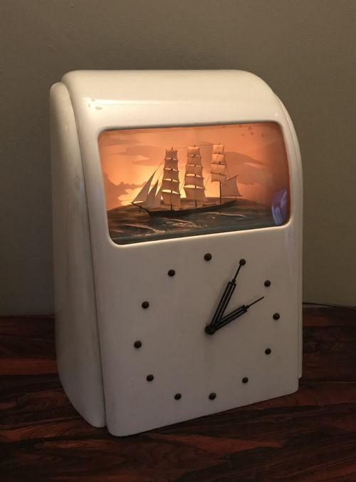 Art Deco Vitascope Clock | 541647 | Sellingantiques co uk