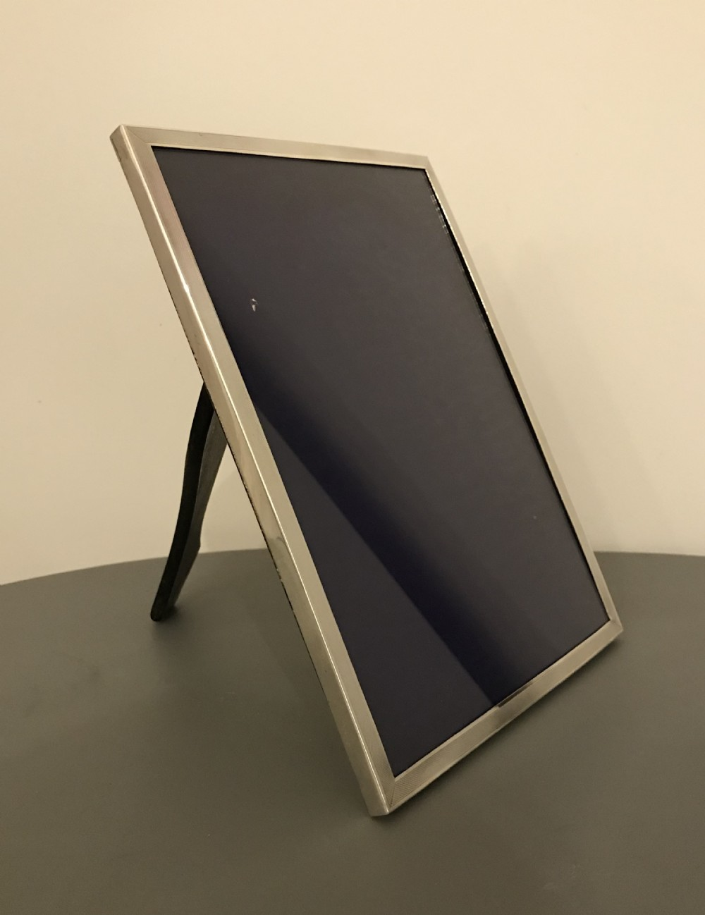 very large solid silver photograph frame