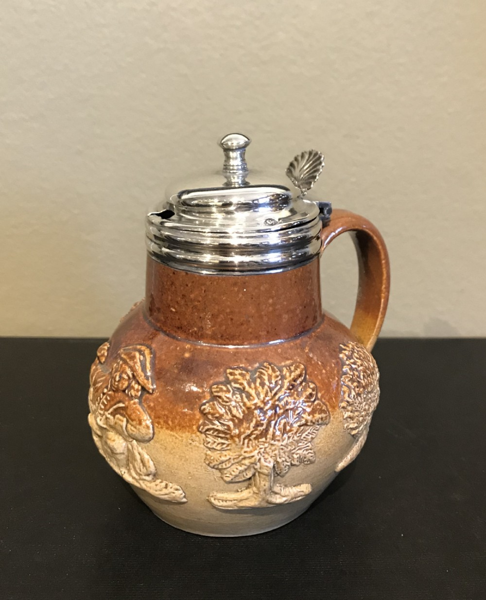 william iv silver stoneware mustard 1832