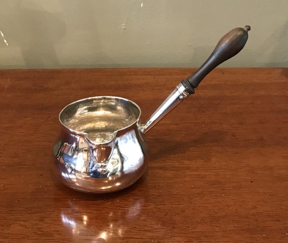 george iii silver brandy warmer 1775