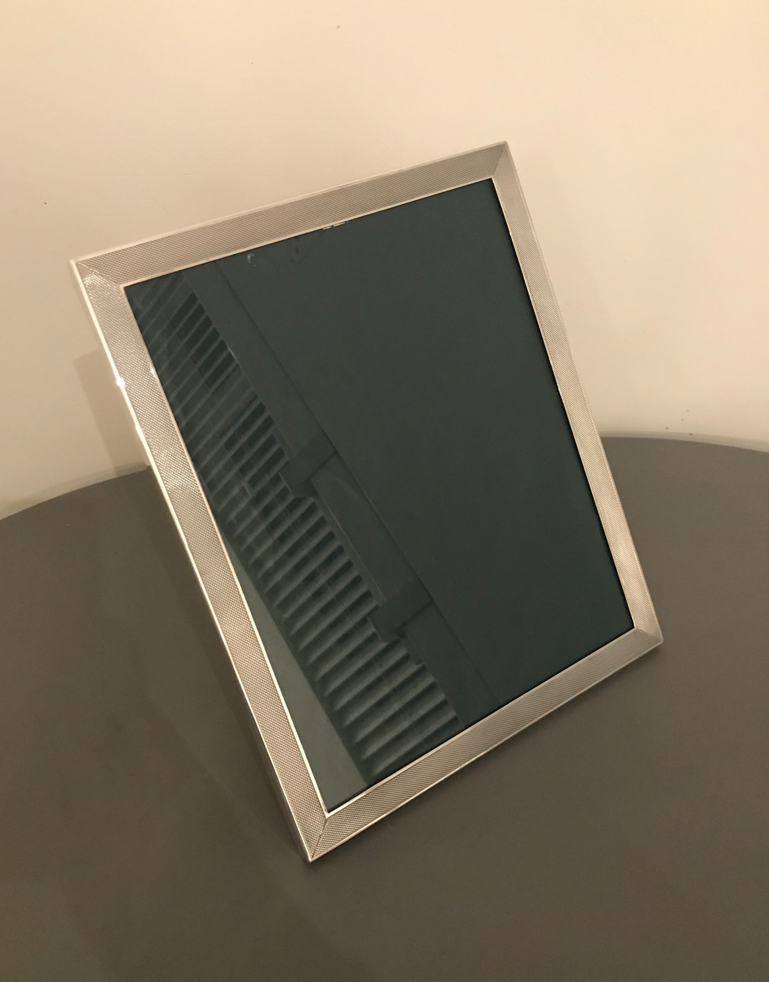 quality solid silver photograph frame