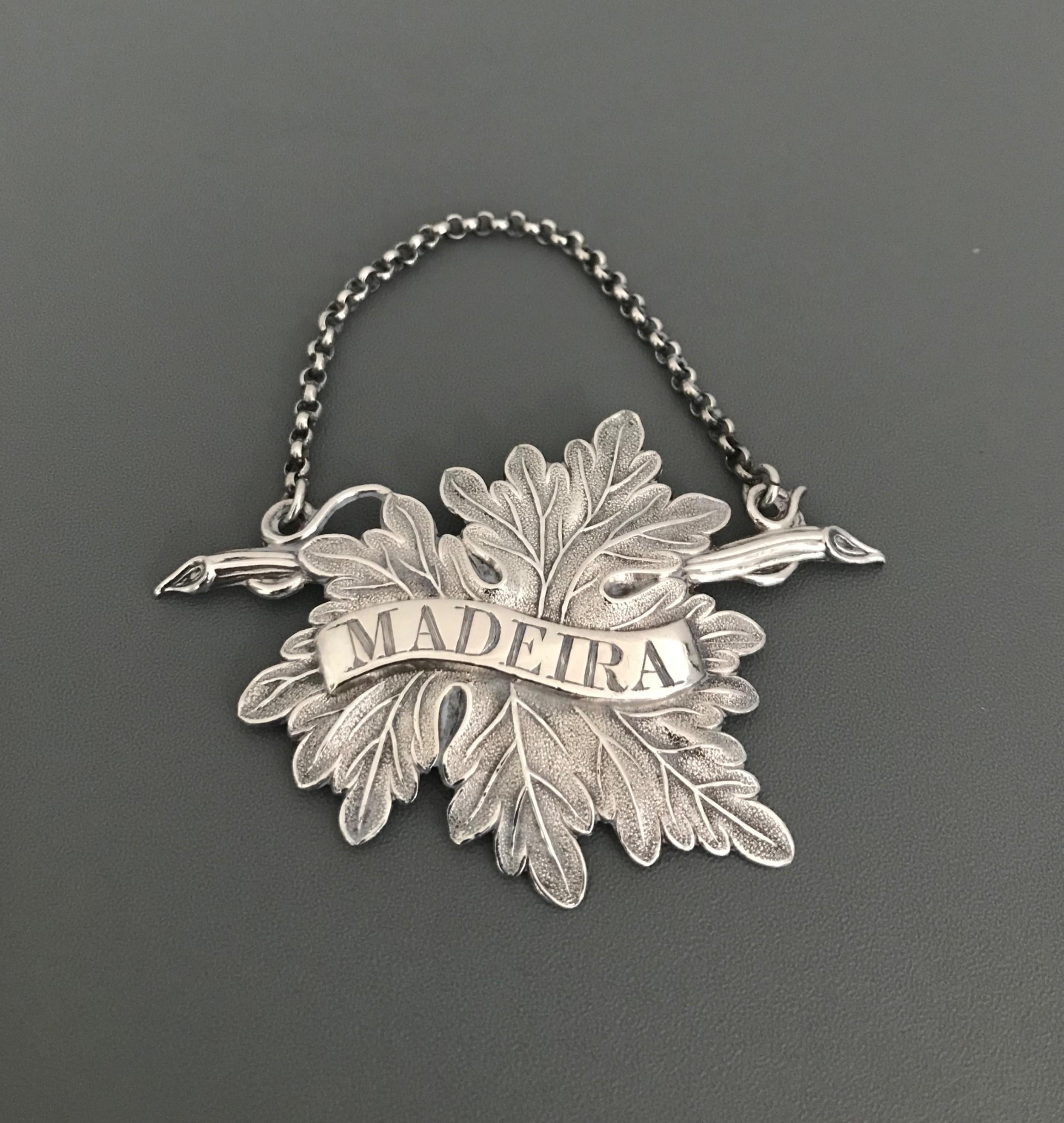 william iv silver madeira label