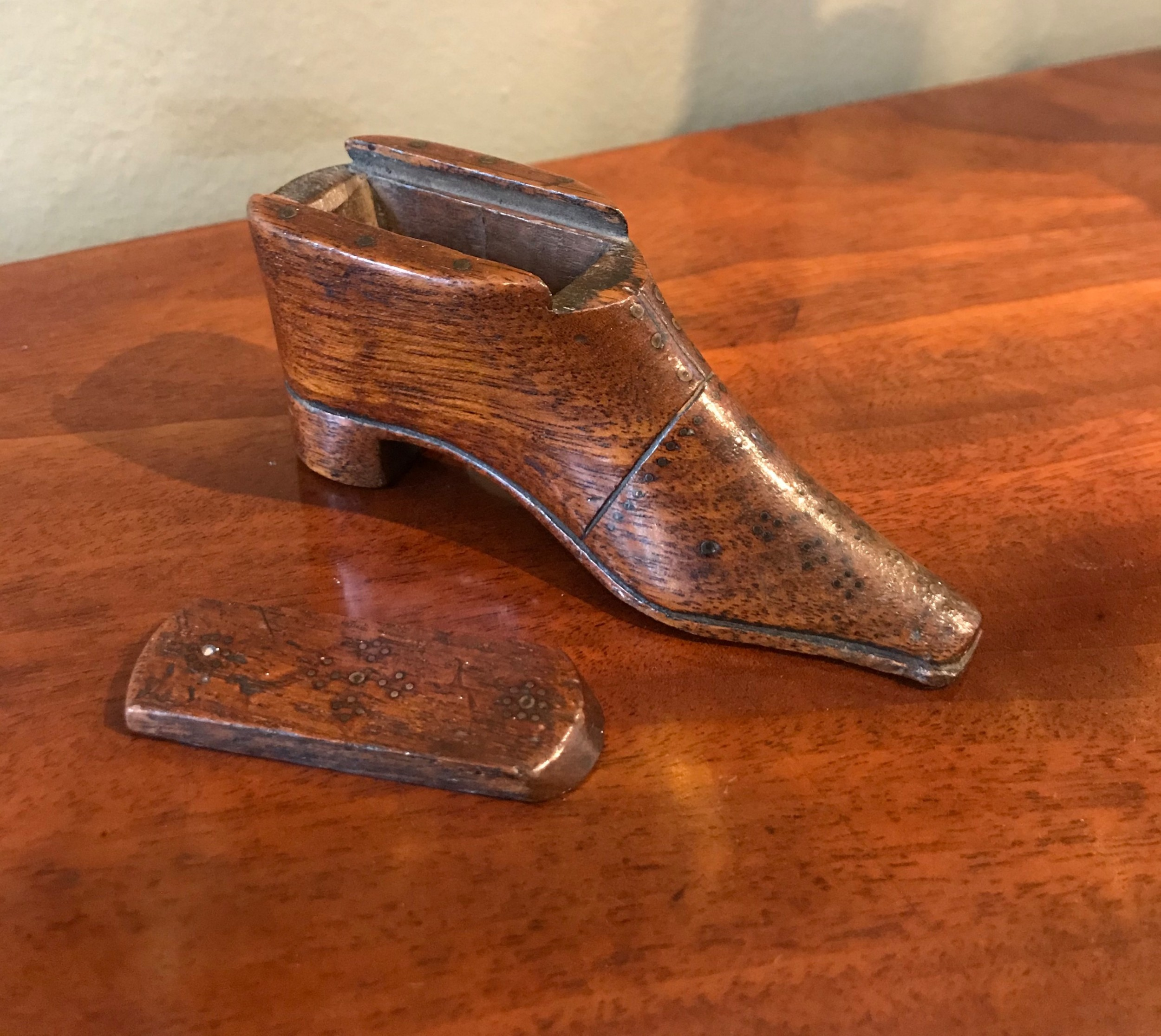 georgian snuff shoe