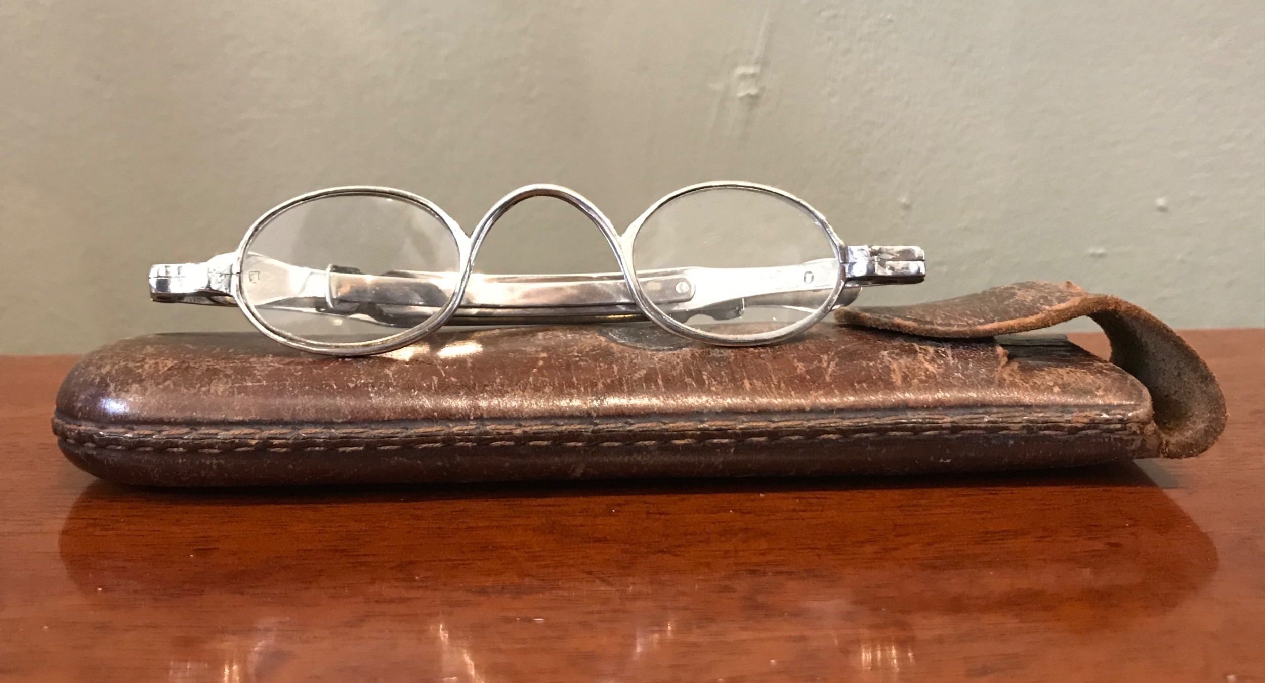 pair of george iv silver spectacles