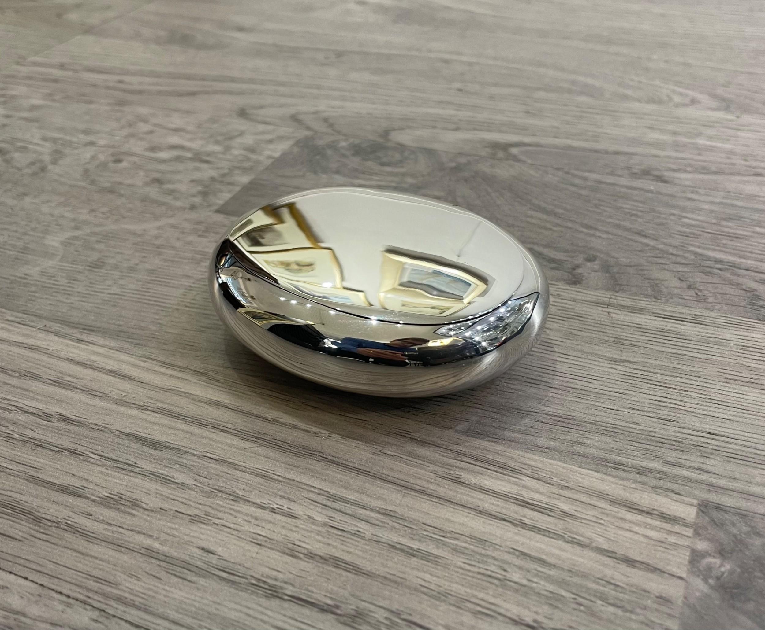 edwardian solid silver snuff box george unite