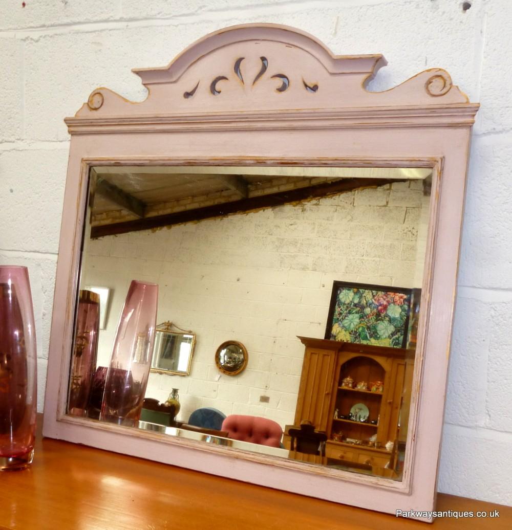 edwardian shabby chic mirror 245779. Black Bedroom Furniture Sets. Home Design Ideas