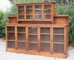 Victorian Mahogany Bookcase 370691 Sellingantiques Co Uk