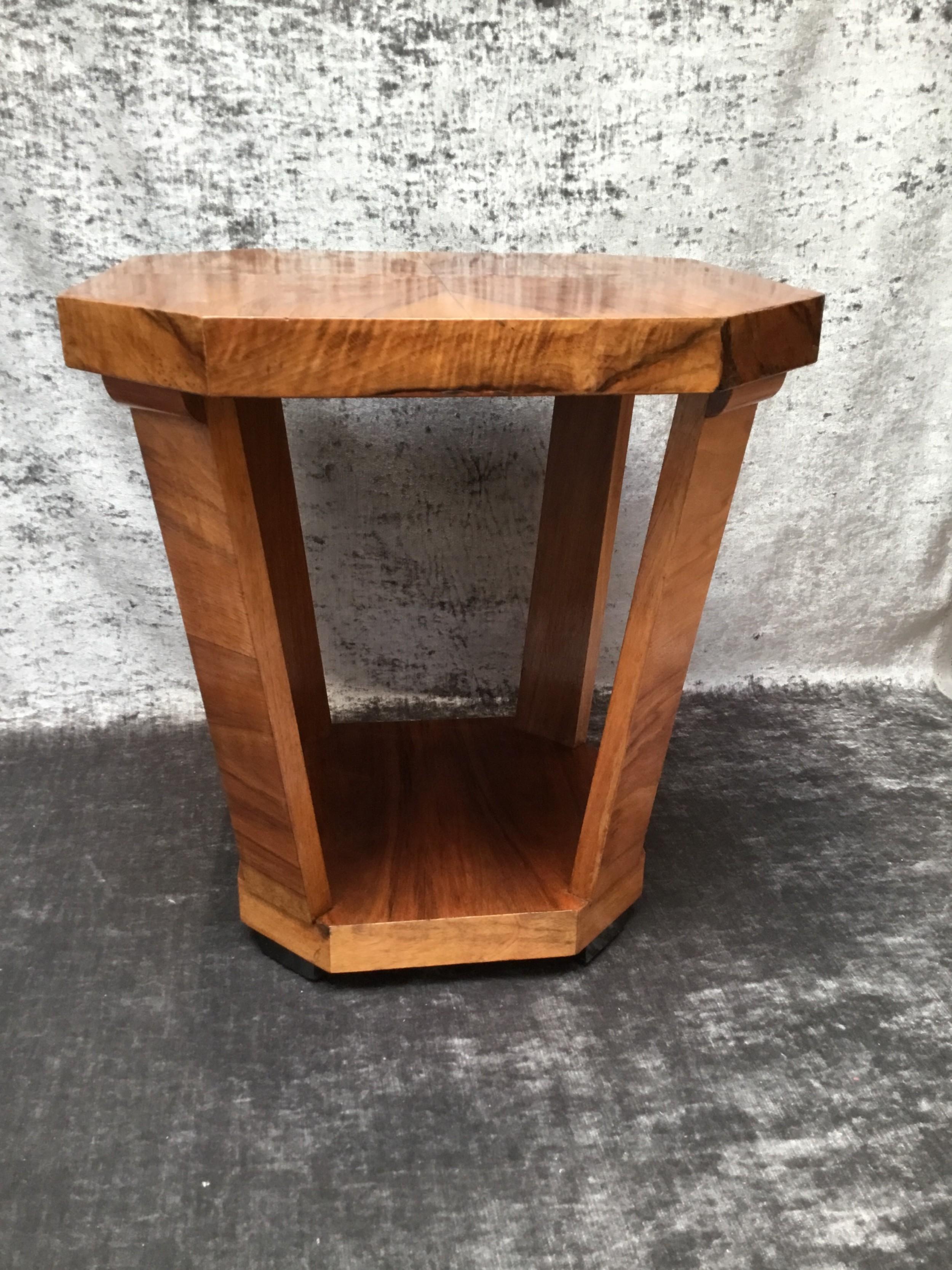 an art deco side table