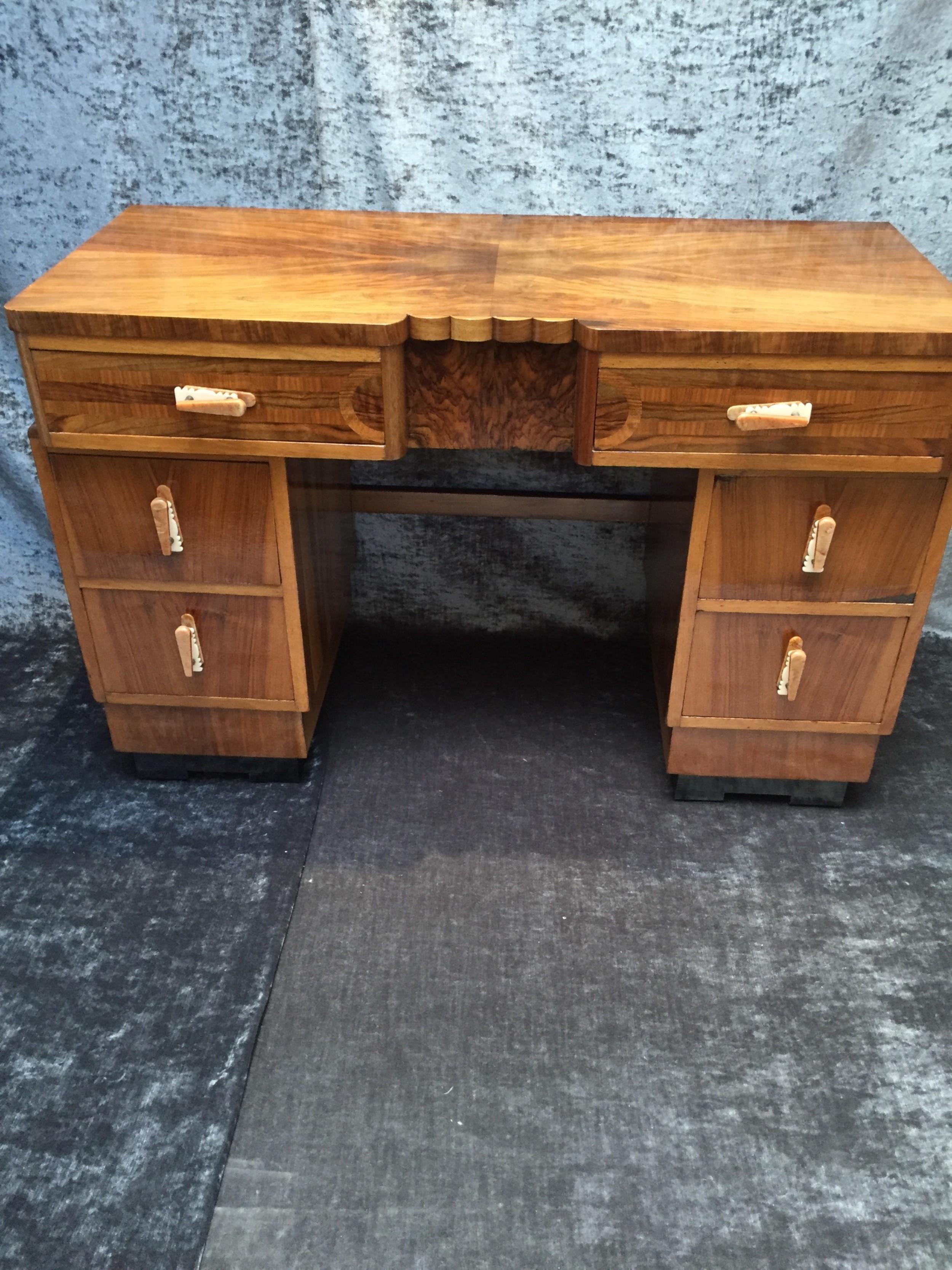 an art deco desk