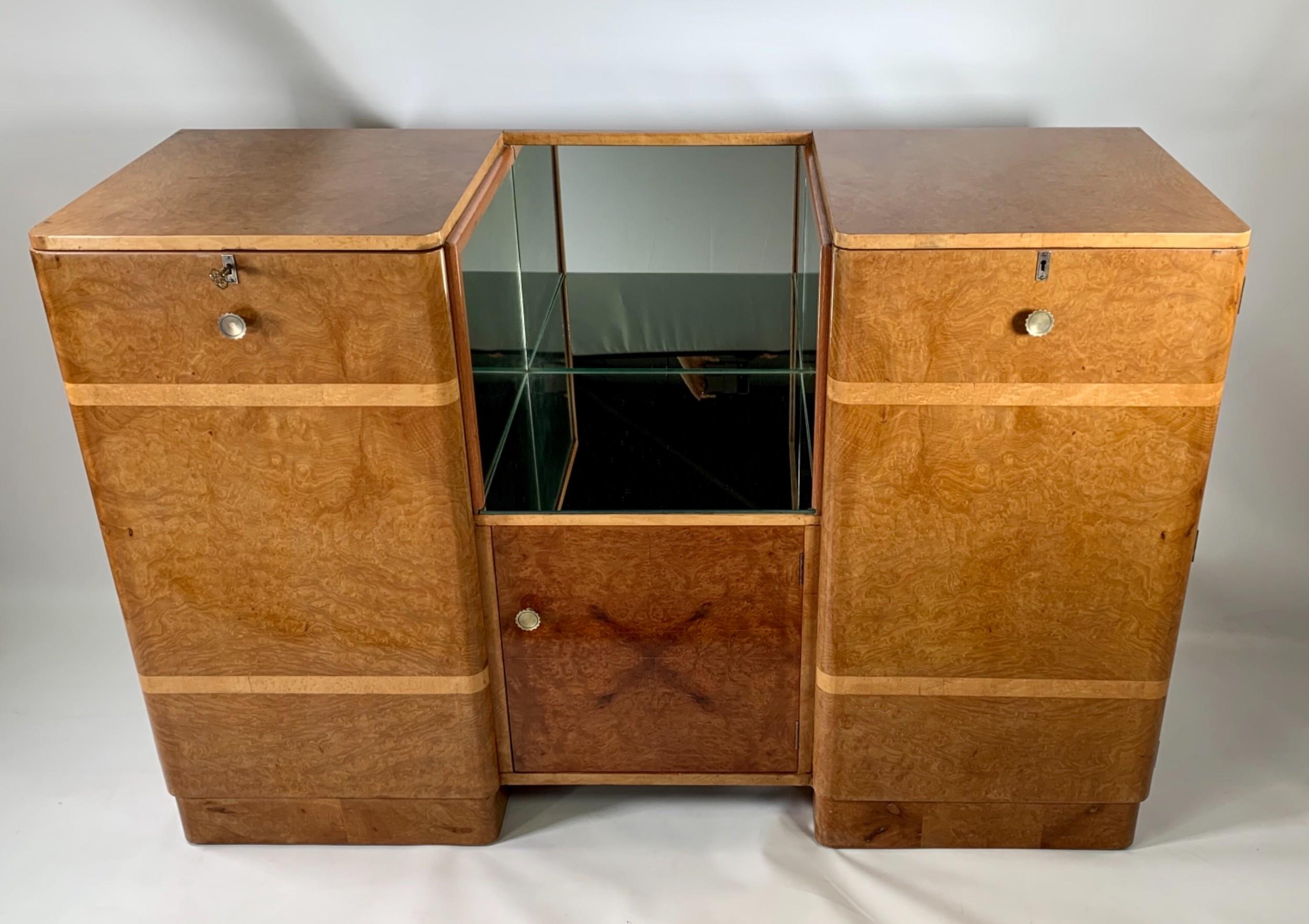 art deco sideboardcocktail cabinet