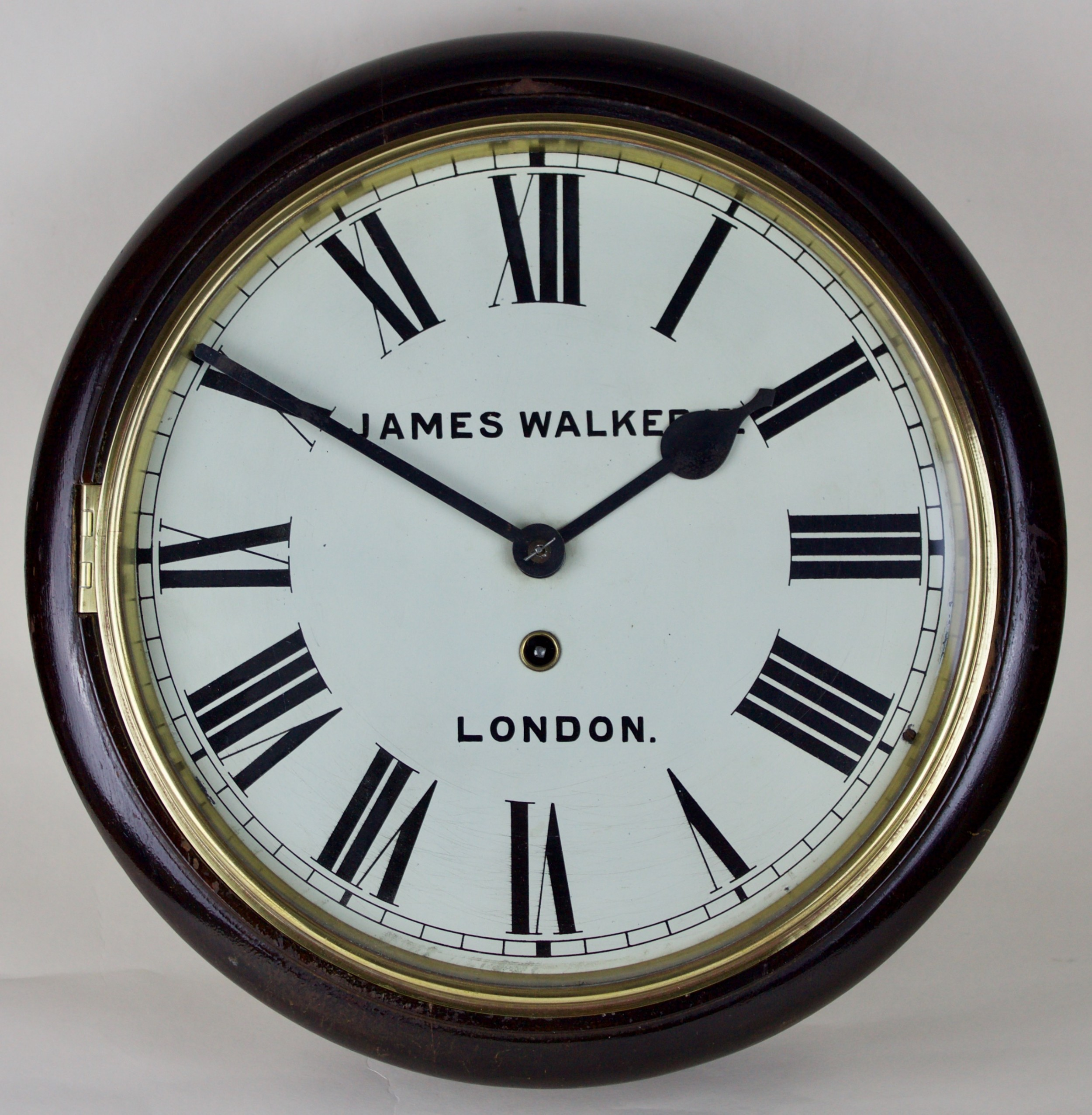 james walker london wall clock
