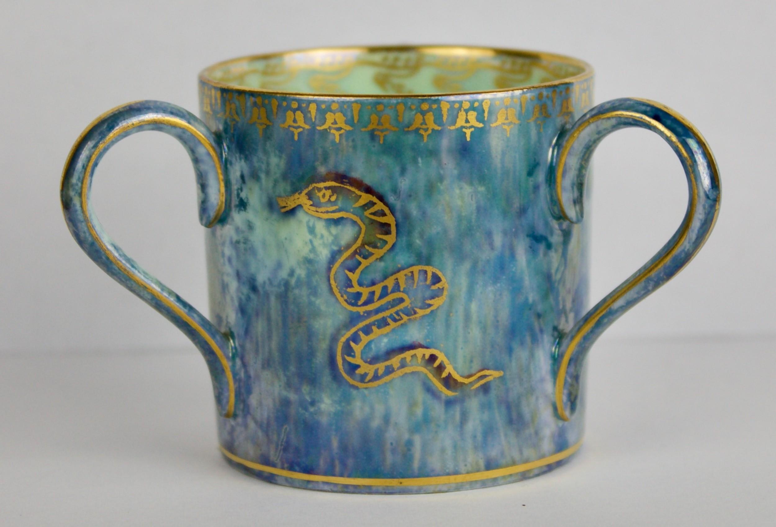 wedgwood lustre tyg loving cup