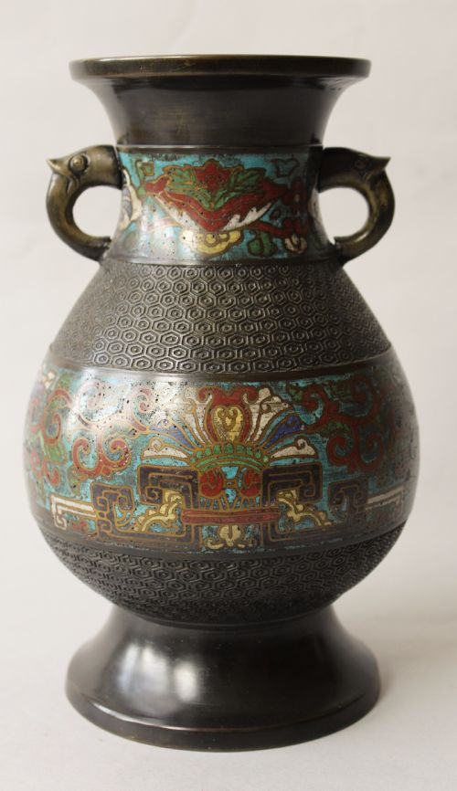 Antique Cloisonne Vases The Uks Largest Antiques Website