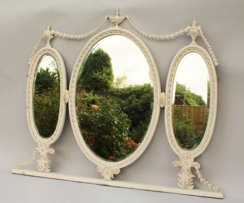 Antique Triptych Mirrors The Uk S Largest Antiques Website