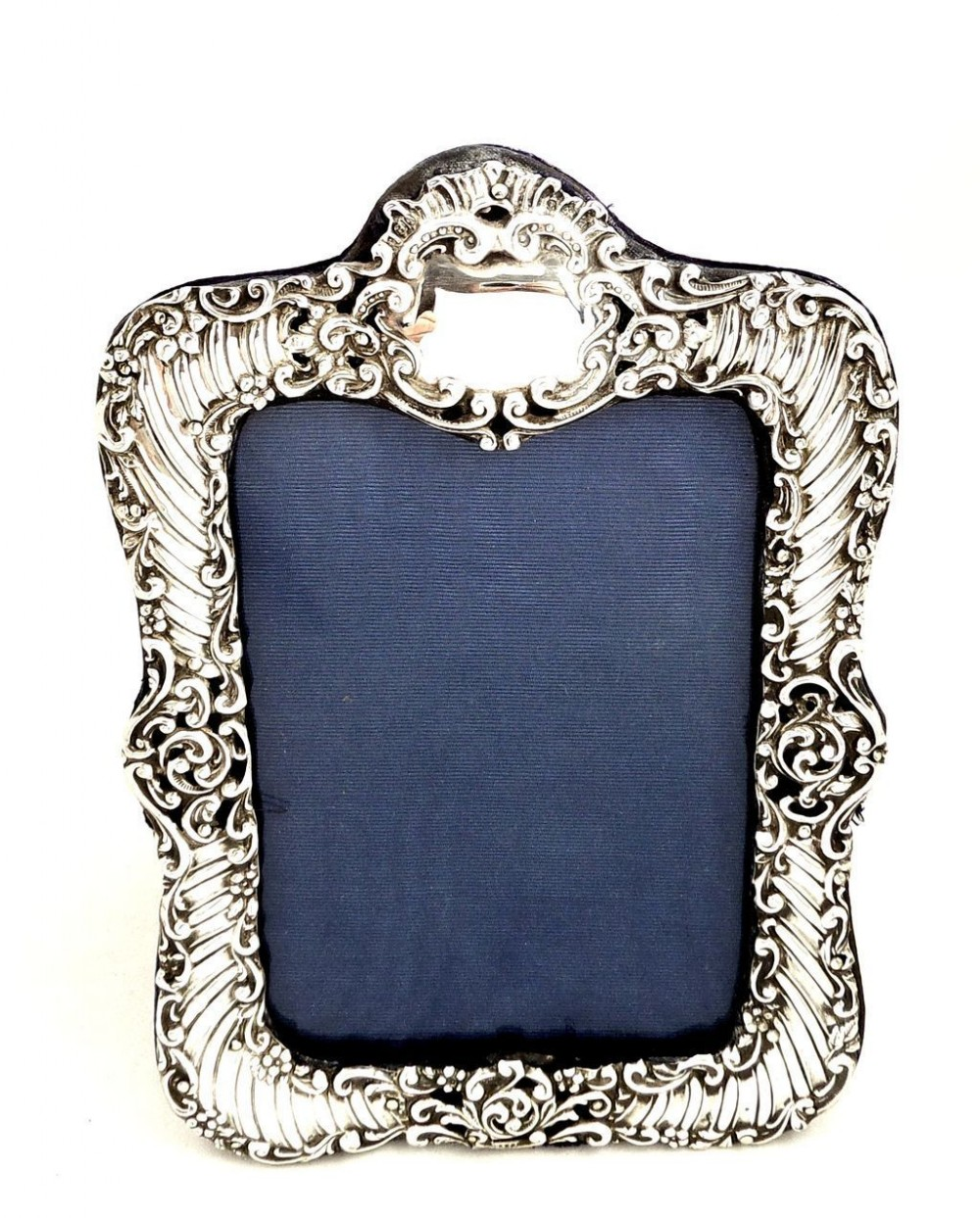 Antique Victorian Sterling Silver Photo Frame 1900 ...