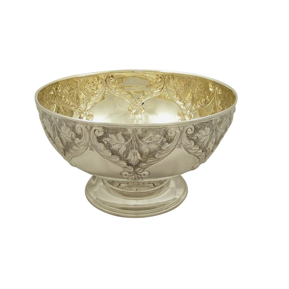 antique edwardian sterling silver 8 12 bowl 1904
