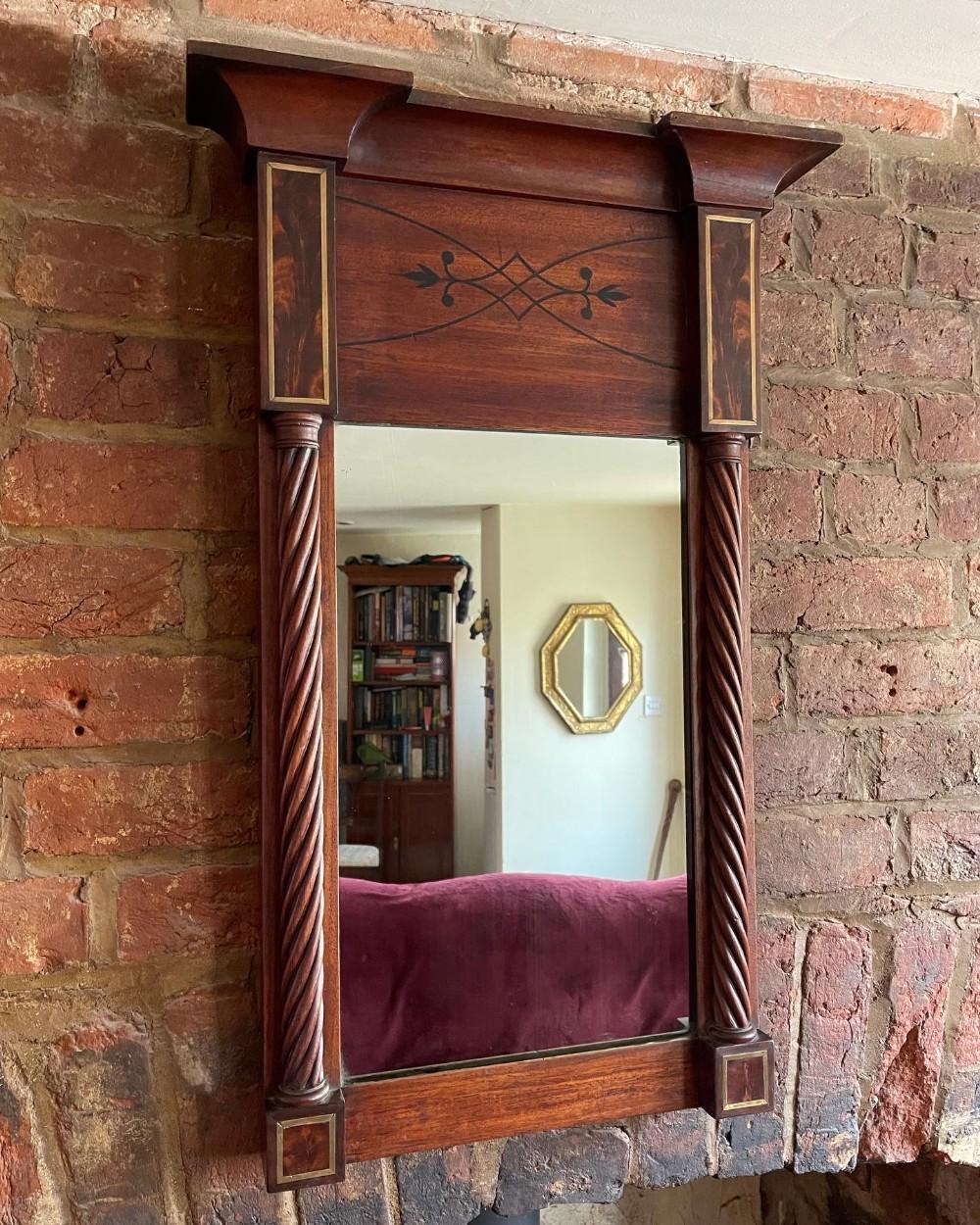 regency period pier mirror