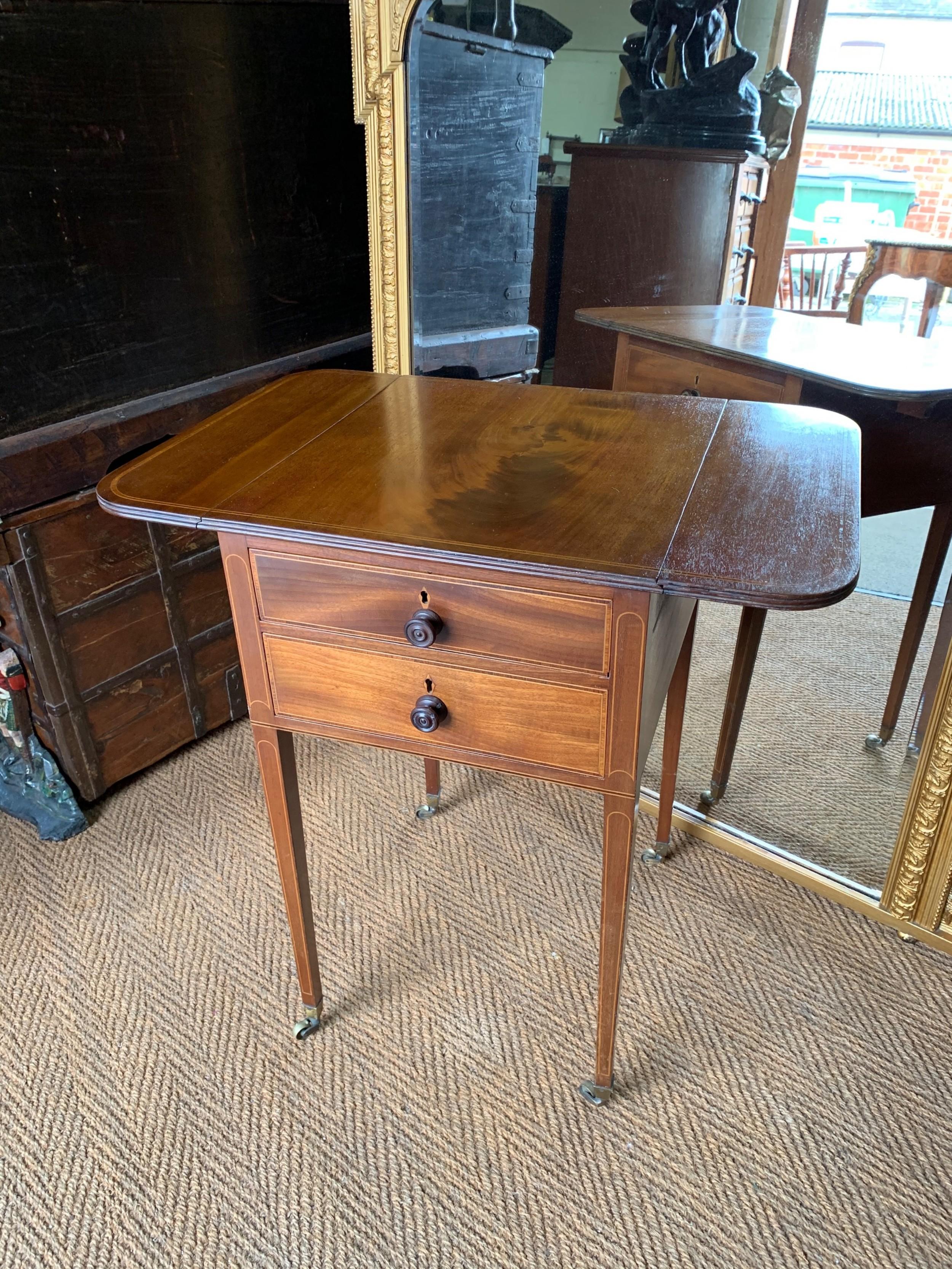 nineteenth century baby pembroke table