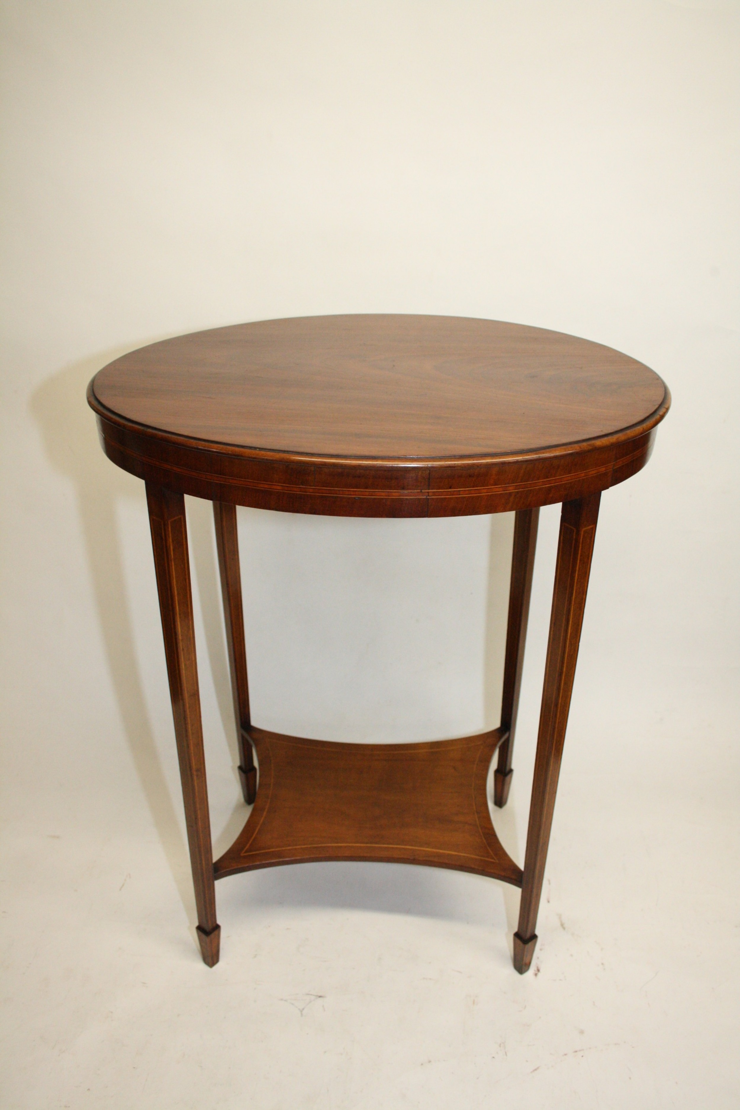 oval occasional table circa 1900