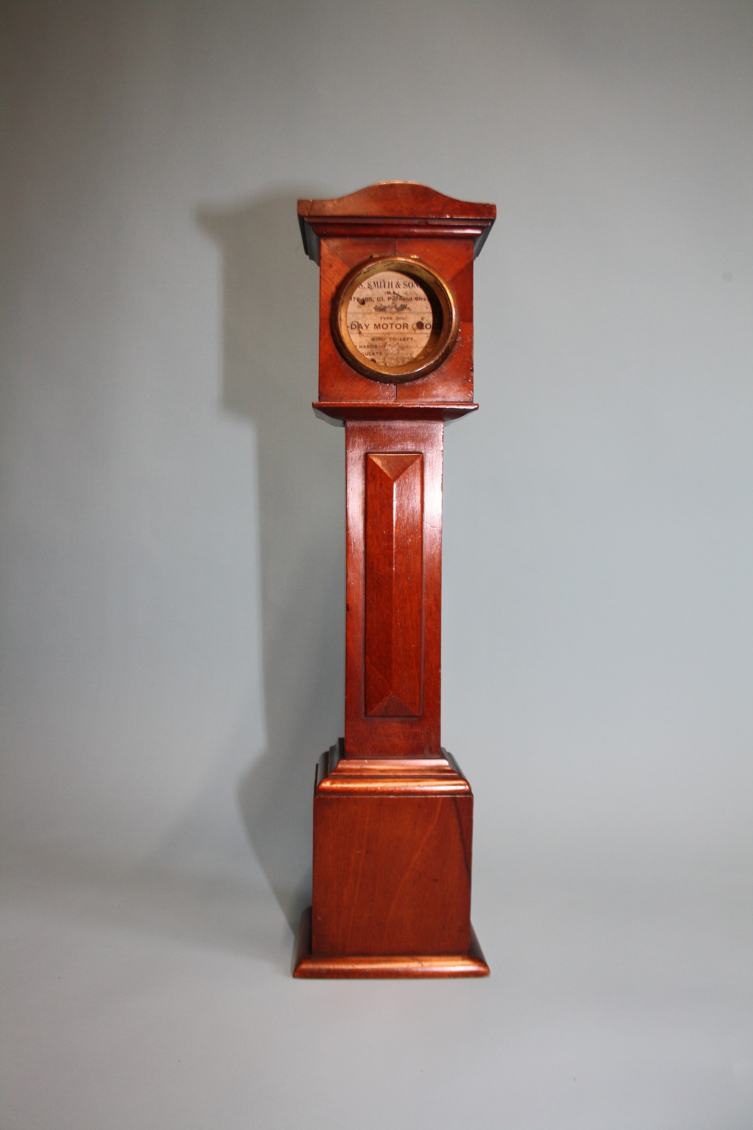 ornament in style of miniature grandfather clock