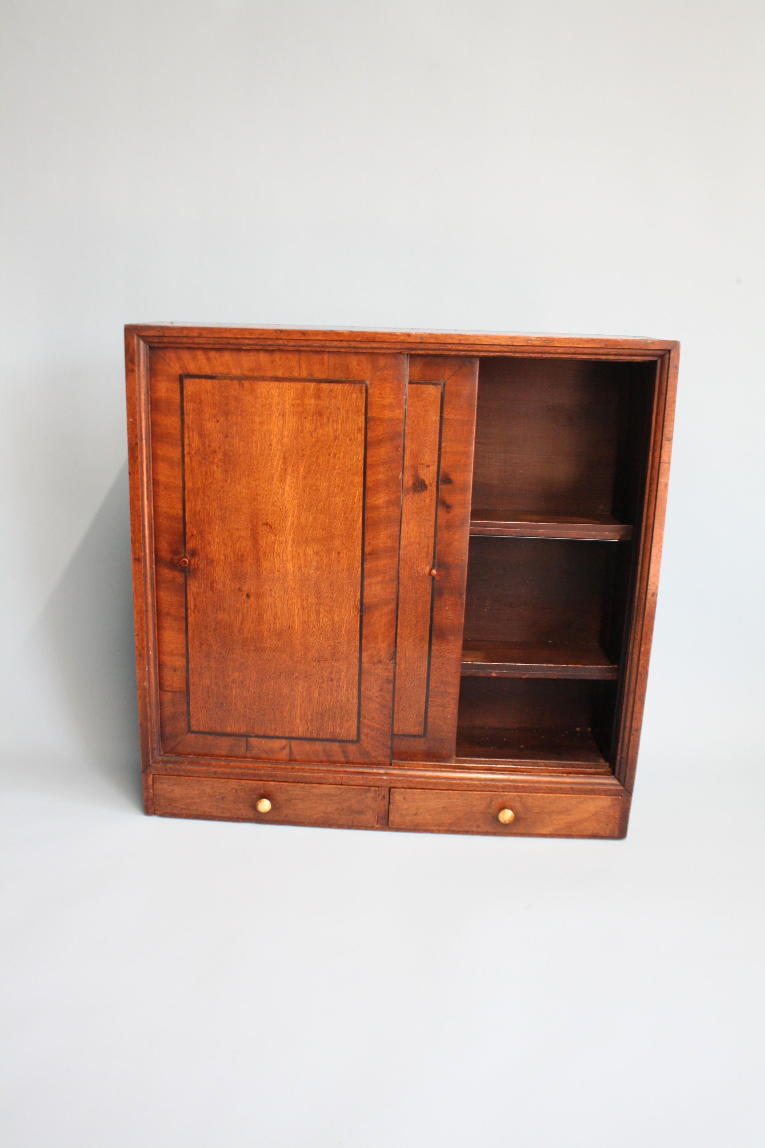 late 19th century oak cupboard