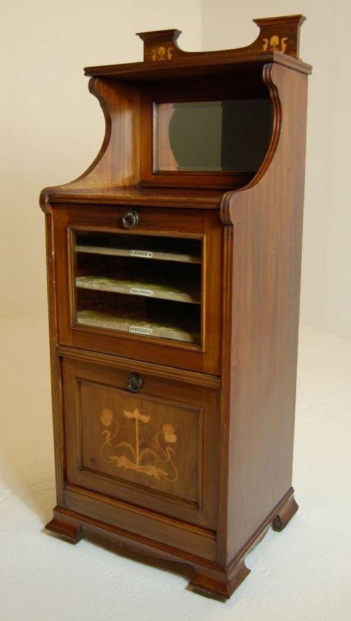Antique Sheet Music Cabinet Cupboard Canterbury 1895