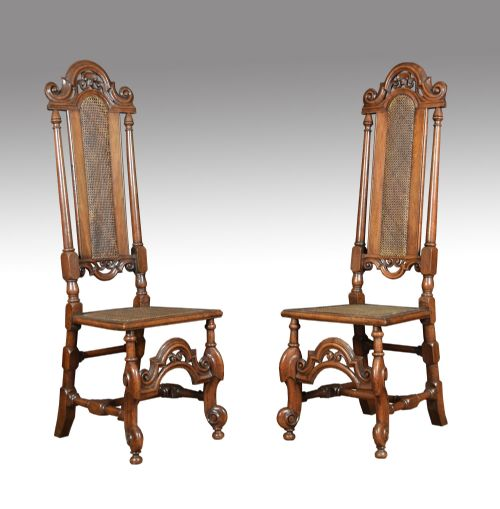 Shackladys Antiques - Antique High Back Chairs - The UK's Largest Antiques Website