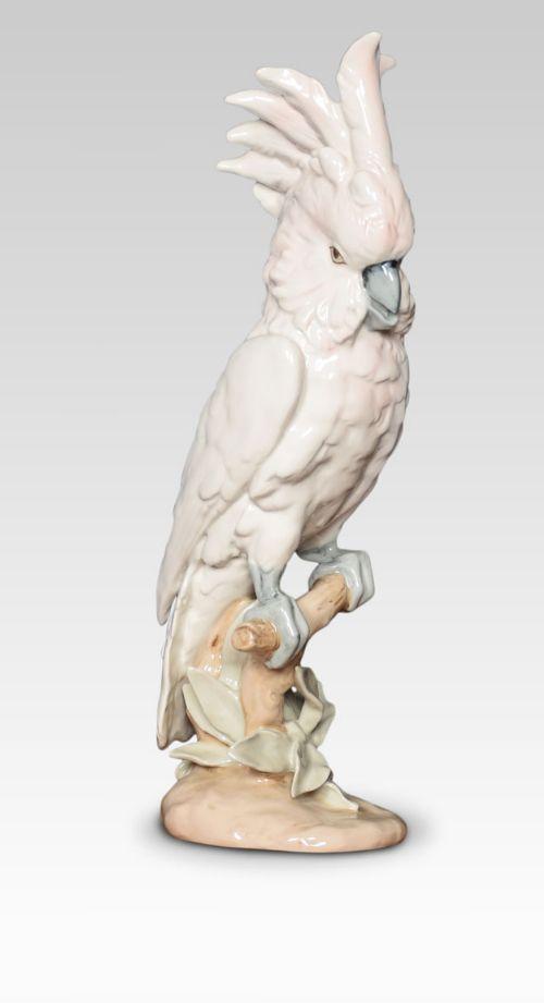 royal dux porcelain figure of a cockatoo