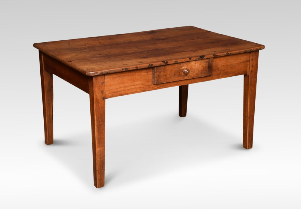 19th century elm coffee table
