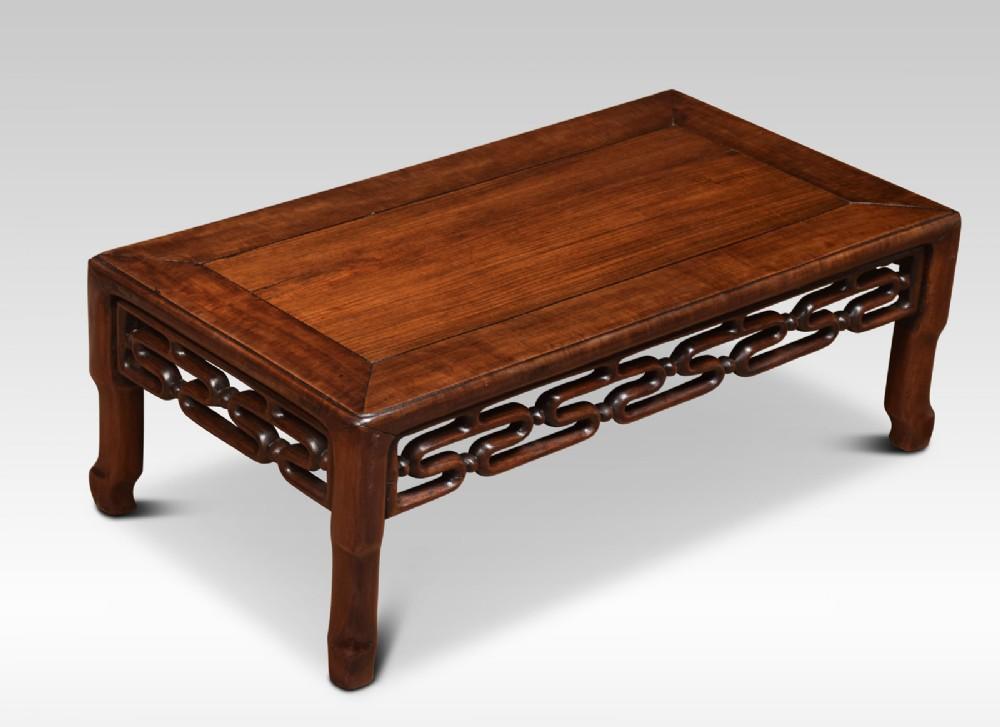 chinese padouk opium table
