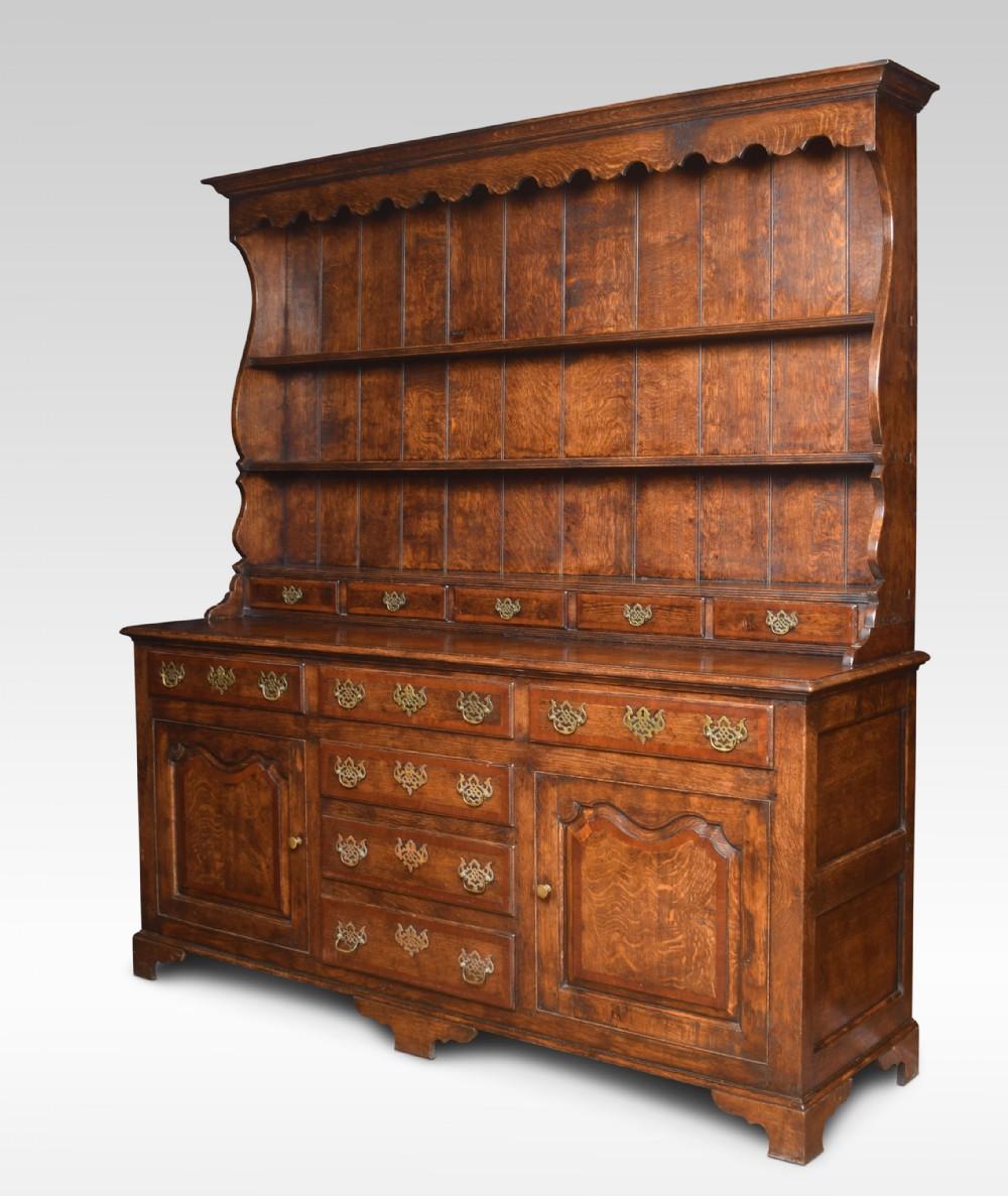 18th century style oak dresser
