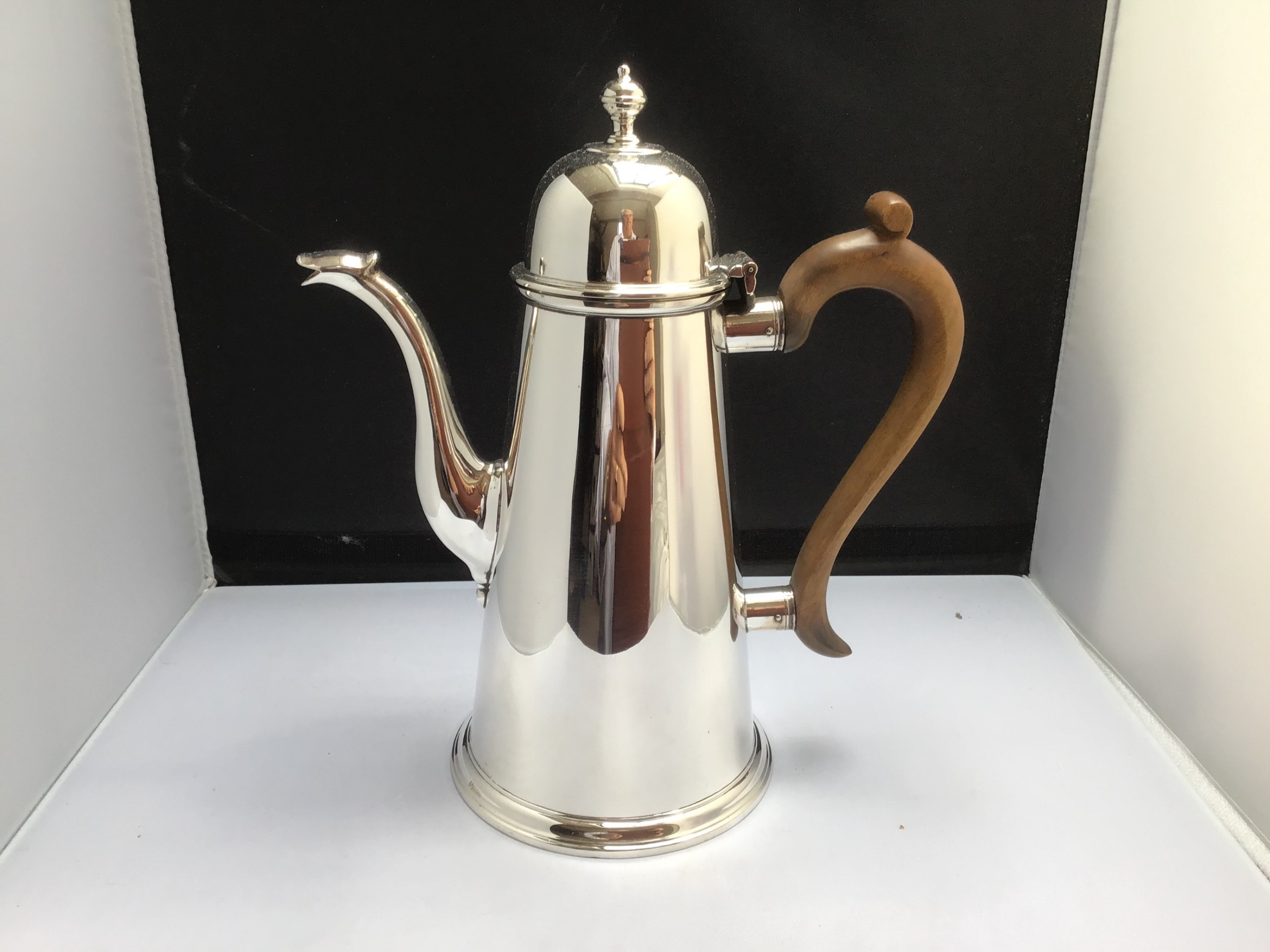 solid silver coffee pot