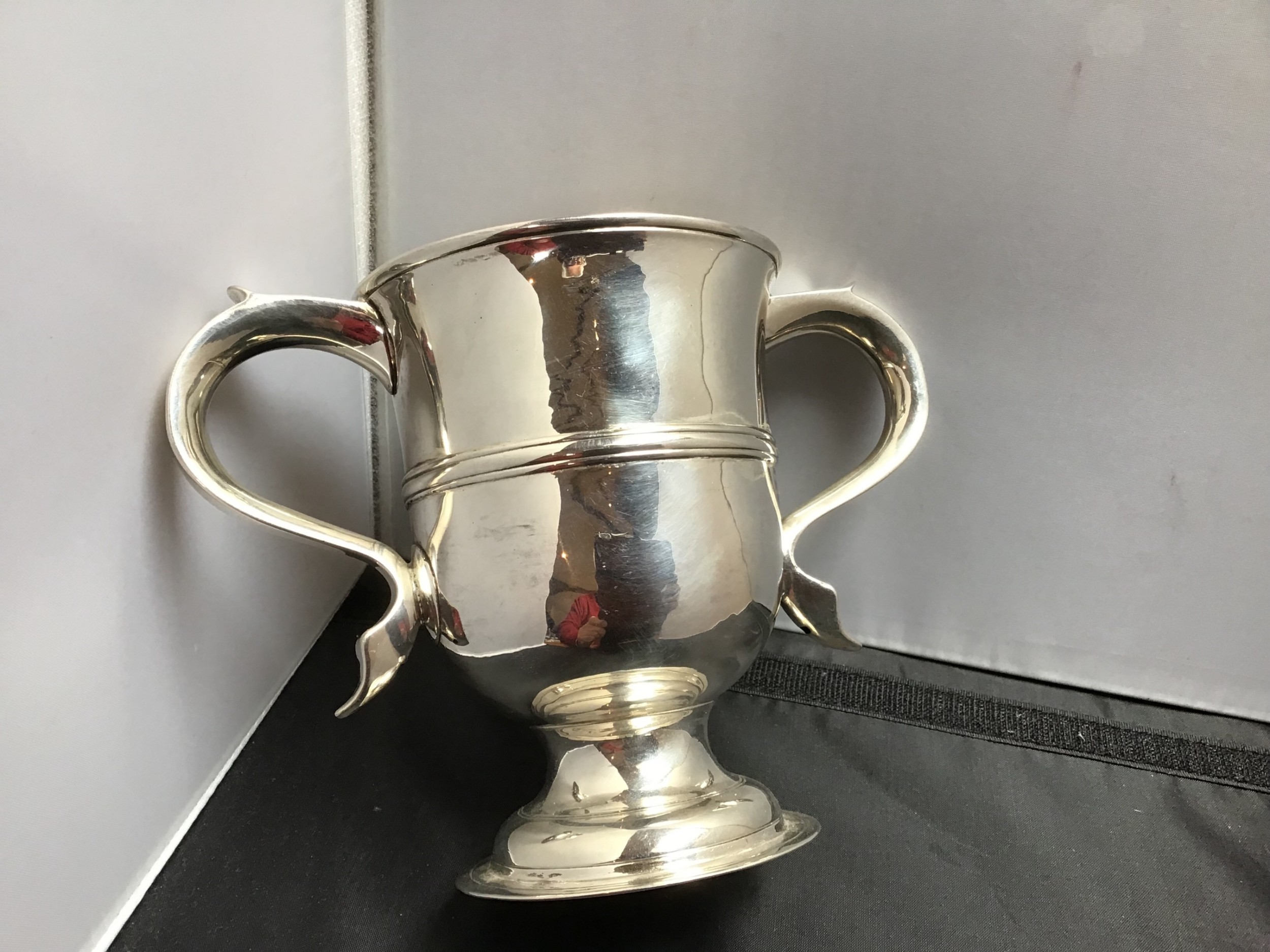 solid silver george iii loving cup