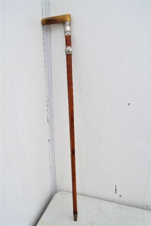 black watch qmsgt ab watson presentation walkingsword stick 1894