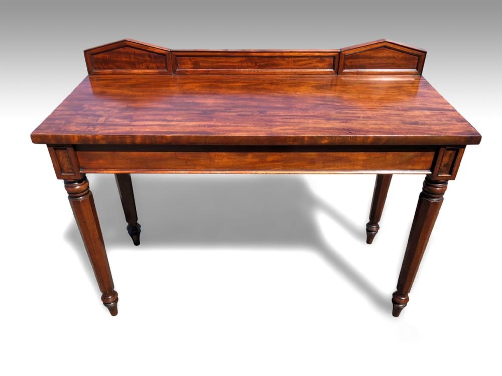 a fine william iv mahogany console table