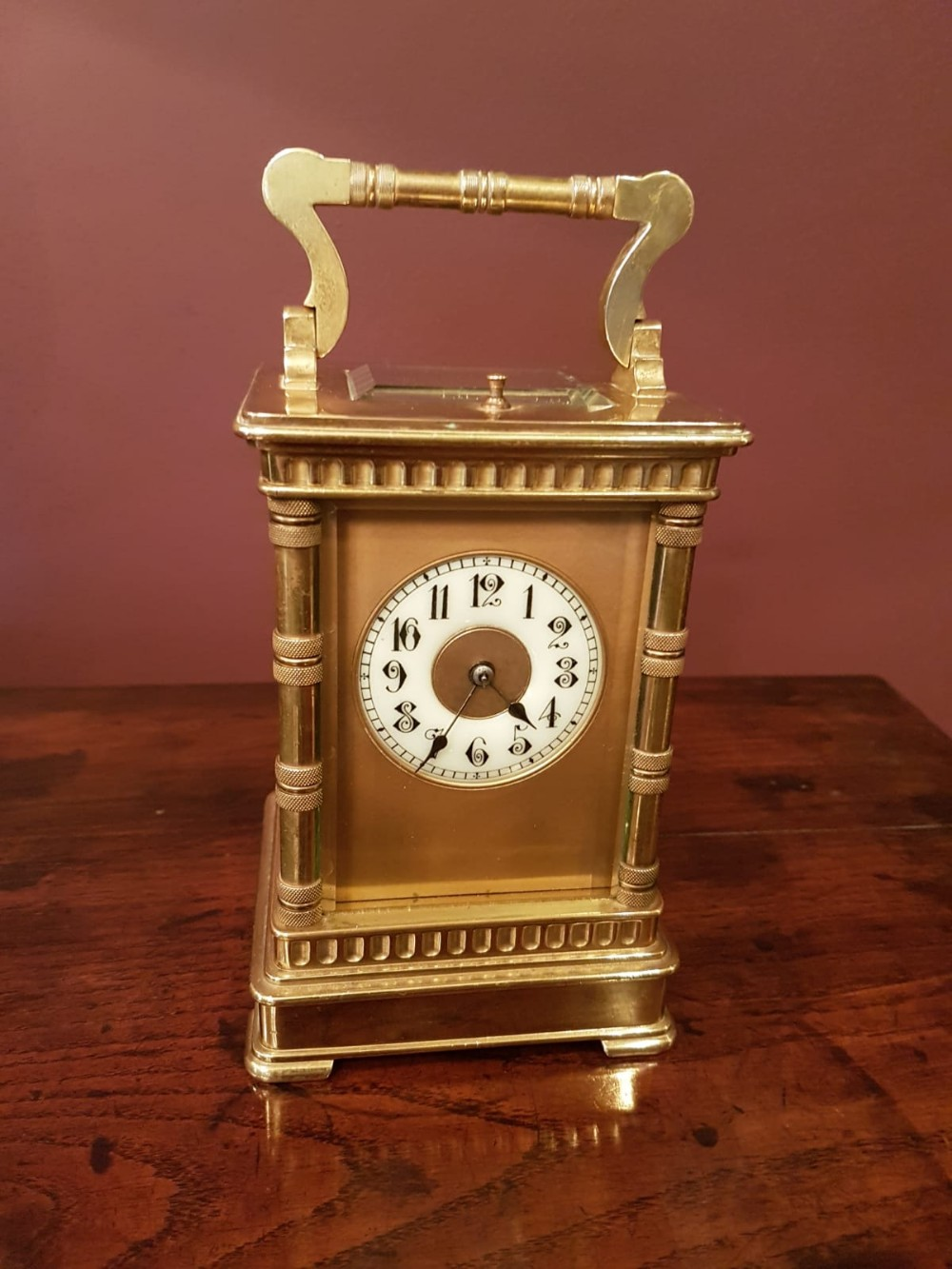 quality victorian repeating carriage clock