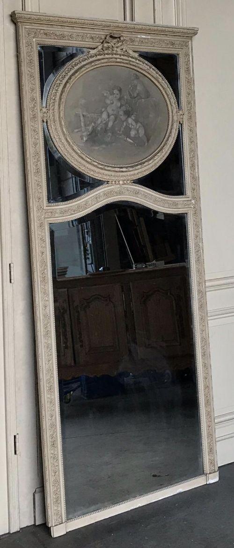 wonderful french trumeau mirror