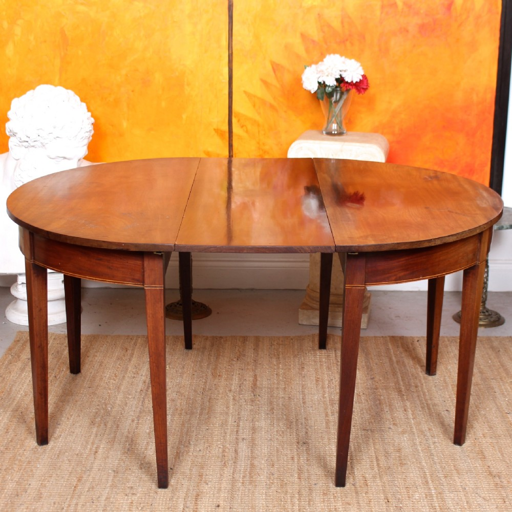 georgian dining table 18th century mahogany