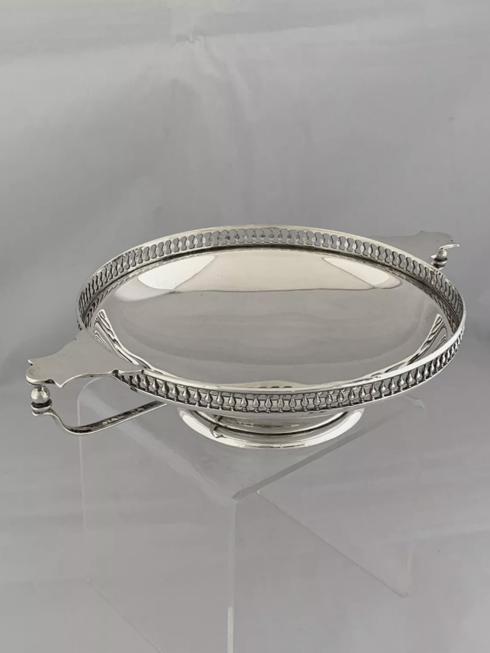 antique silver fruit bowl 1913 sheffield pearce sons sterling silver bowl