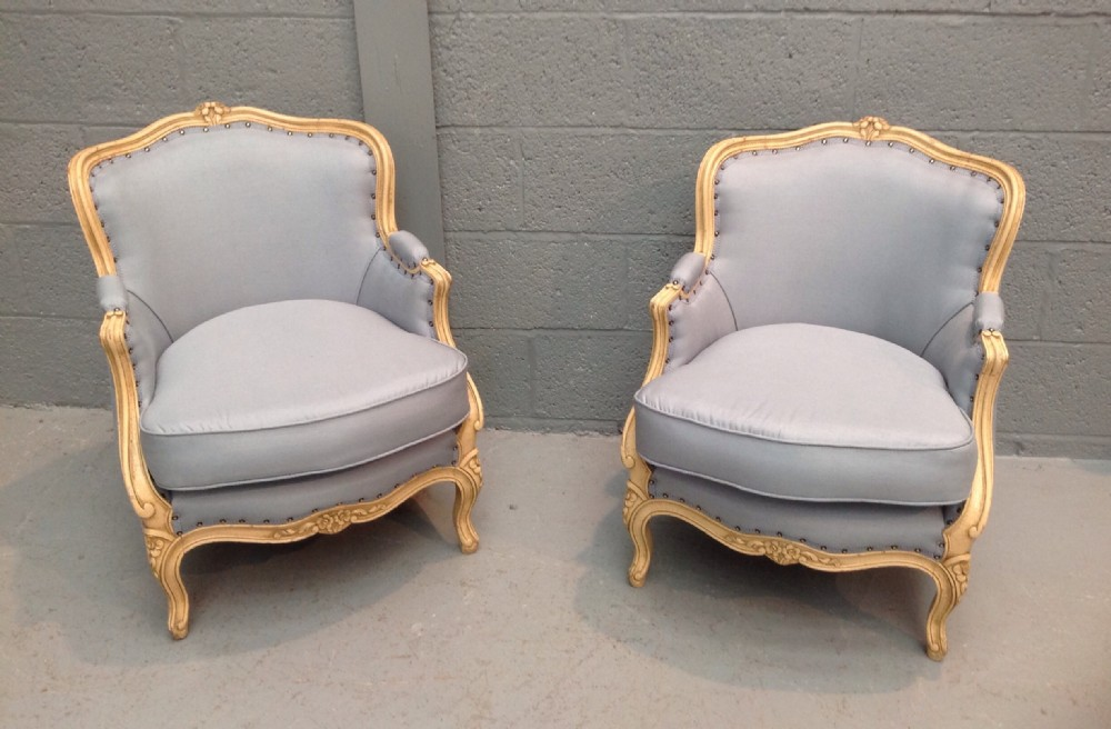 Exceptionnel Pair Of French Armchairs
