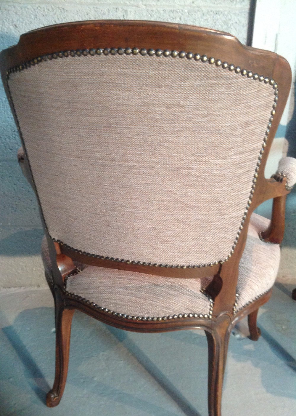 Pair Of French Armchairs | 314136 | Sellingantiques.co.uk