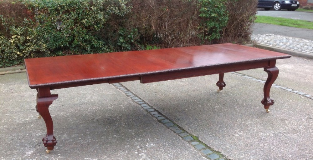 Large 14 seater mahogany dining table 460689 for 14 seater dining table
